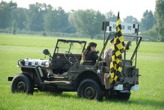 Voiture de Jeep Follow de MB de Willys Photo stock