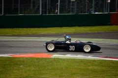 Voiture 1960 de junior de formule de Lotus 18 Image libre de droits
