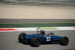 Voiture 1963 de junior de formule de Lotus 27 Images libres de droits
