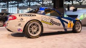 Voiture de la tasse 2014 Mazda5 (Miata) Photographie stock libre de droits