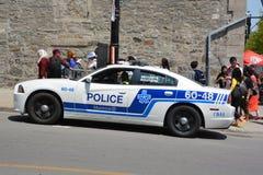 Voiture de La Ville de Montreal de police de service Images stock