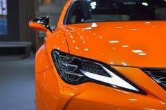 Voiture de Lexus RC 300 sur l'affichage à la trente-cinquième expo internationale de moteur de la Thaïlande le 28 novembre image libre de droits