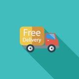 Voiture de livraison illustration libre de droits