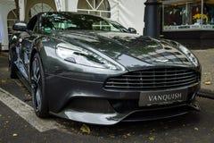 Voiture de luxe Aston Martin Vanquish (depuis 2012) Photo stock