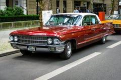 Voiture de luxe normale Cadillac Fleetwood, 1962 Photo stock