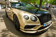 Voiture de luxe personnelle Bentley Continental Supersports, 2017 Images stock
