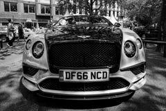 Voiture de luxe personnelle Bentley Continental Supersports, 2017 Photographie stock libre de droits