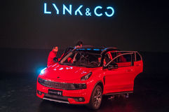 Voiture de LYNK et de Co 01 Photo stock