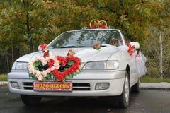 Voiture de mariage photographie stock libre de droits