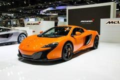 Voiture de McLaren à l'expo internationale 2015 de moteur de la Thaïlande Photo stock