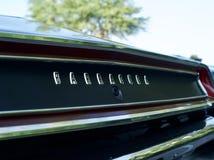 Voiture de muscle de barracuda par Plymouth image stock