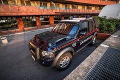 Voiture de police Image libre de droits