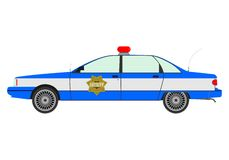 Voiture de police Photo stock