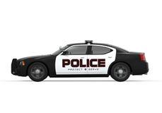 Voiture de police  Photos libres de droits