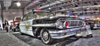 Voiture de police américaine de vintage Image libre de droits