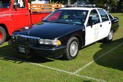 Voiture de police de Beverly Hills Chevrolet images stock