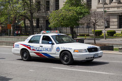 Voiture de police de Toronto Images libres de droits