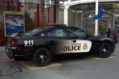 Voiture de police de Vancouver Photographie stock libre de droits