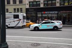 Voiture de police New York Lizenzfreie Stockbilder