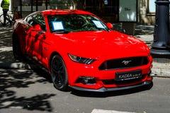 Voiture de poney Ford Mustang GT, 2016 Image libre de droits