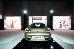 Voiture de Porsche 911 à vendre Image stock