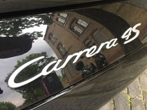 Voiture de Porsche Carrera 4s photographie stock