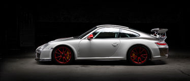 Voiture de Porsche 911 de vintage Photographie stock