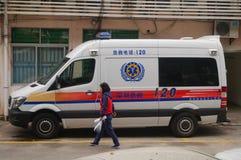 voiture de 120 premiers secours Photos libres de droits