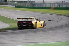 VOITURE de RACE de Corvette Z06 GT3 Image stock