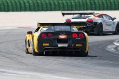 VOITURE de RACE de Corvette Z06 GT3 Photographie stock