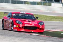 VOITURE de RACE de Ginetta G50 GT4 Images stock
