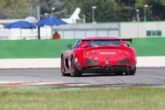 VOITURE de RACE de Ginetta G50 GT4 Photos stock