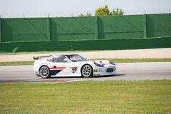 VOITURE de RACE de Ginetta G50 GT4 Photographie stock