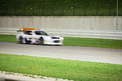 VOITURE de RACE de Ginetta G50 GT4 Images libres de droits