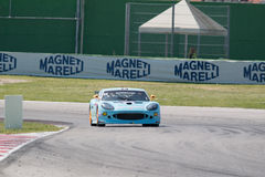 VOITURE de RACE de Ginetta G50 GT4 Photos libres de droits