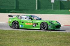 VOITURE de RACE de la TASSE GT4 de Ginetta G50 Photos libres de droits