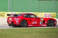 VOITURE de RACE GT4 de TASSE de Ginetta G50 PRO Image stock