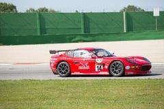 VOITURE de RACE GT4 de TASSE de Ginetta G50 PRO Photographie stock