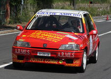 Voiture de rassemblement de Peugeot 106 Image libre de droits