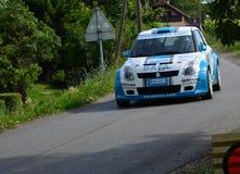 Voiture de rassemblement de Suzuki Photos stock