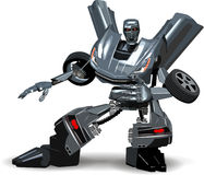 Voiture de robot Photo stock