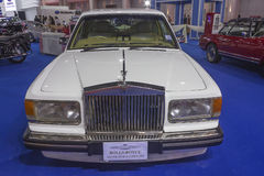 Voiture 1994 de Rolls Royce Silver Spur II (limousine) Photos libres de droits