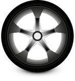 Voiture de roue Photographie stock
