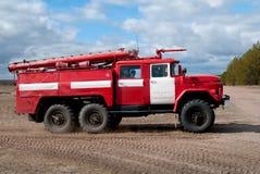 Voiture de sapeur-pompier Image libre de droits