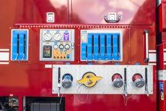 Voiture de sapeurs-pompiers image libre de droits