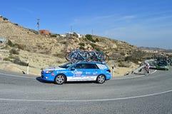 Voiture de soutien de vélos de cube Photo stock