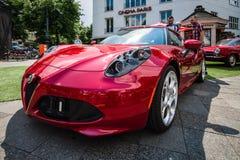 Voiture de sport Alfa Romeo 4C &#x28 ; Dactylographiez 960&#x29 ; , depuis 2014 Image stock