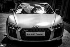 Voiture de sport Audi R8 Spyder Quattro, produit depuis 2011 Photos stock
