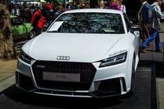 Voiture de sport Audi TTT RS, produit depuis 2009 Image stock