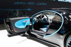 Voiture de sport de Bugatti Chiron Image stock